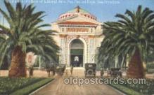 exp080229 - Palace of Liberal Arts 1915 Panama International Exposition, San Francisco, California USA Postcard Post Card