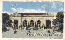 exp080244 - Colorado State Building 1915 Panama International Exposition, San Francisco, California USA Postcard Post Card