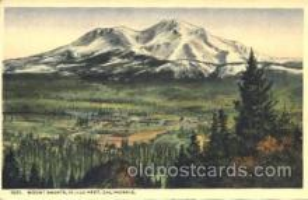 exp080251 - Mount Shasta 1915 Panama International Exposition, San Francisco, California USA Postcard Post Card