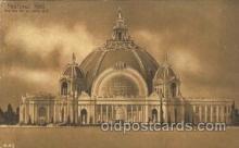 exp080259 - Festival Hall 1915 Panama International Exposition, San Francisco, California USA Postcard Post Card
