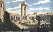 exp080261 - Court of Abundance 1915 Panama International Exposition, San Francisco, California USA Postcard Post Card