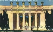 exp080266 - Court of Four Seasons 1915 Panama International Exposition, San Francisco, California USA Postcard Post Card