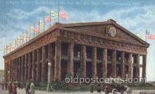 exp080282 - Oregon State Building 1915 Panama International Exposition, San Francisco, California USA Postcard Post Card