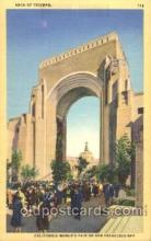 exp080294 - Arch of Triumph 1915 Panama International Exposition, San Francisco, California USA Postcard Post Card
