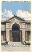 exp080299 - Palace of Liberal Arts 1915 Panama International Exposition, San Francisco, California USA Postcard Post Card
