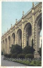 exp080305 - Court of Abundance 1915 Panama International Exposition, San Francisco, California USA Postcard Post Card