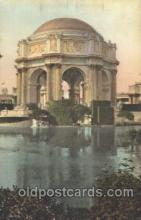 exp080306 - Palace of Fine Arts 1915 Panama International Exposition, San Francisco, California USA Postcard Post Card