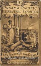 exp080322 - 1915 Panama International Exposition, San Francisco, California USA Postcard Post Card
