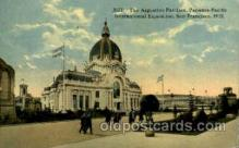 exp080349 - The Argentine Pavilion Panama-Pacific International Exposition,  San Francisco California USA, 1915 Postcard Post Card