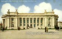 exp080368 - Washington state building Panama-Pacific International Exposition,  San Francisco California USA, 1915 Postcard Post Card