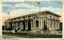 exp080372 - The press building Panama-Pacific International Exposition,  San Francisco California USA, 1915 Postcard Post Card