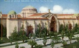 exp080376 - Palace of fine art Panama-Pacific International Exposition,  San Francisco California USA, 1915 Postcard Post Card