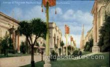 exp080384 - Avenue if progress Panama-Pacific International Exposition,  San Francisco California USA, 1915 Postcard Post Card