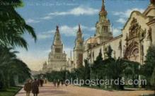 exp080386 - Palm Avenue Panama-Pacific International Exposition,  San Francisco California USA, 1915 Postcard Post Card