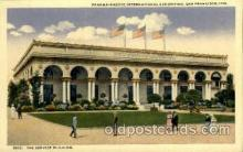 exp080390 - The service building Panama-Pacific International Exposition,  San Francisco California USA, 1915 Postcard Post Card