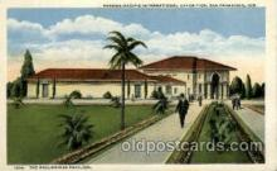 exp080395 - The philippines pavilion Panama-Pacific International Exposition,  San Francisco California USA, 1915 Postcard Post Card