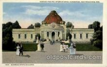 exp080398 - Alabama state building Panama-Pacific International Exposition,  San Francisco California USA, 1915 Postcard Post Card