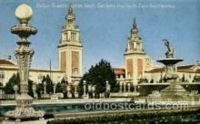 exp080399 - Italian Towers across south gardens Panama-Pacific International Exposition,  San Francisco California USA, 1915 Postcard Post Card