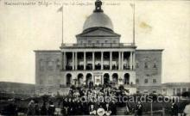 exp080405 - Massachusetts Building Panama-Pacific International Exposition,  San Francisco California USA, 1915 Postcard Post Card