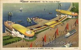 exp100002 - Chicago Worlds Fair Exposition 1933 - 1934, Postcard Post Card