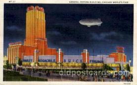 exp100006 - Chicago Worlds Fair Exposition 1933 - 1934, Postcard Post Card