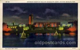 exp100015 - Chicago Worlds Fair Exposition 1933 - 1934, Postcard Post Card