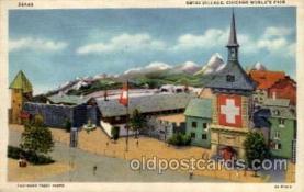 exp100016 - Chicago Worlds Fair Exposition 1933 - 1934, Postcard Post Card