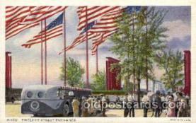 exp100019 - Chicago Worlds Fair Exposition 1933 - 1934, Postcard Post Card