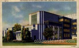 exp100022 - Chicago Worlds Fair Exposition 1933 - 1934, Postcard Post Card