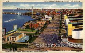 exp100023 - Chicago Worlds Fair Exposition 1933 - 1934, Postcard Post Card
