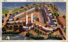 exp100029 - Chicago Worlds Fair Exposition 1933 - 1934, Postcard Post Card