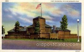 exp100030 - Chicago Worlds Fair Exposition 1933 - 1934, Postcard Post Card