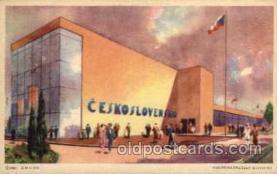 exp100035 - Chicago Worlds Fair Exposition 1933 - 1934, Postcard Post Card