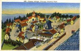 exp100037 - Chicago Worlds Fair Exposition 1933 - 1934, Postcard Post Card