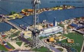 exp100039 - Chicago Worlds Fair Exposition 1933 - 1934, Postcard Post Card