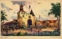 exp100043 - Chicago Worlds Fair Exposition 1933 - 1934, Postcard Post Card