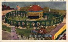 exp100054 - A & P Carnical, Chicago Worlds Fair Exposition 1933 - 1934, Postcard Post Card