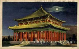 exp100061 - Chicago Worlds Fair Exposition 1933 - 1934, Postcard Post Card