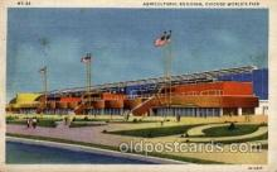 exp100063 - Chicago Worlds Fair Exposition 1933 - 1934, Postcard Post Card