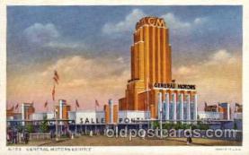 exp100071 - Chicago Worlds Fair Exposition 1933 - 1934, Postcard Post Card
