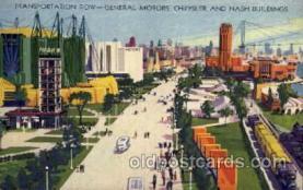 exp100074 - Chicago Worlds Fair Exposition 1933 - 1934, Postcard Post Card