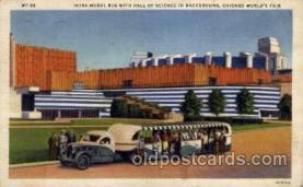 exp100080 - Chicago Worlds Fair Exposition 1933 - 1934, Postcard Post Card