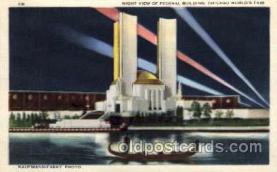 exp100083 - Chicago Worlds Fair Exposition 1933 - 1934, Postcard Post Card