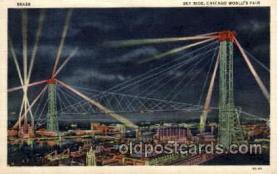 exp100084 - Chicago Worlds Fair Exposition 1933 - 1934, Postcard Post Card