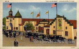 exp100091 - Chicago Worlds Fair Exposition 1933 - 1934, Postcard Post Card