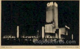 exp100096 - Chicago Worlds Fair Exposition 1933 - 1934, Postcard Post Card