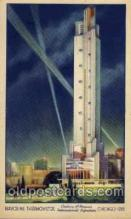 exp100109 - Chicago Worlds Fair Exposition 1933 - 1934, Postcard Post Card