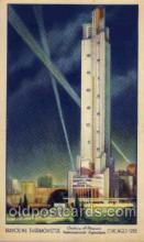 exp100109 - Chicago Worlds Fair Exposition 1933 - 1934, Postcard Post Card