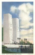 exp100149 - Pylons 1933 Chicago, Illinois USA Worlds Fair Exposition Postcard Post Card