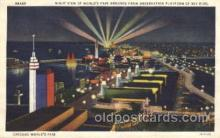exp100155 - 1933 Chicago, Illinois USA Worlds Fair Exposition Postcard Post Card